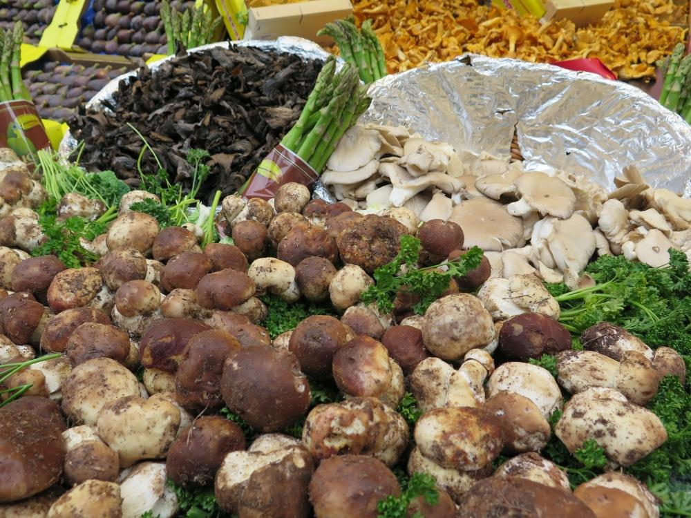 Bastille mushrooms