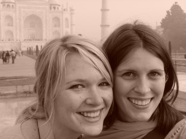 Ashley and I met in Sweden in 2006. This is us in India in 2008. Next spring we hope to meet up again, probably in Indonesia.