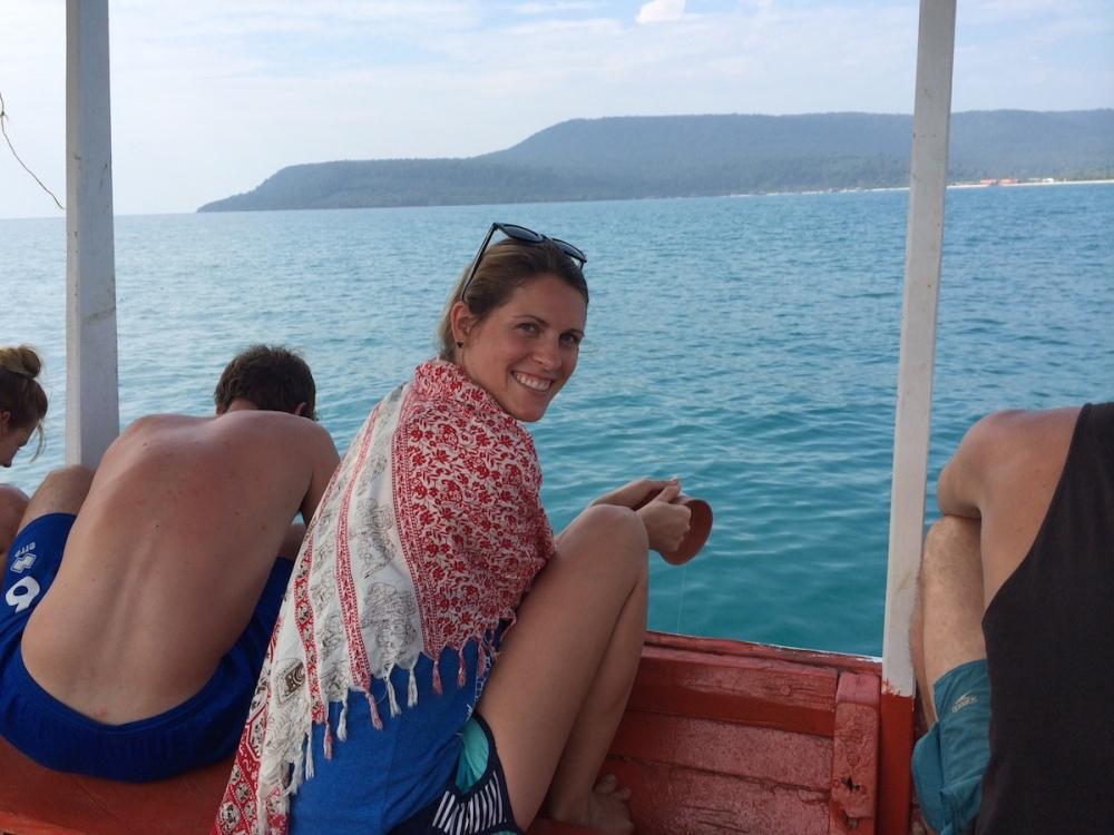 Allison Fishing Cambodia