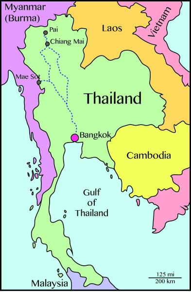 Biorambler's first trip to Thailand