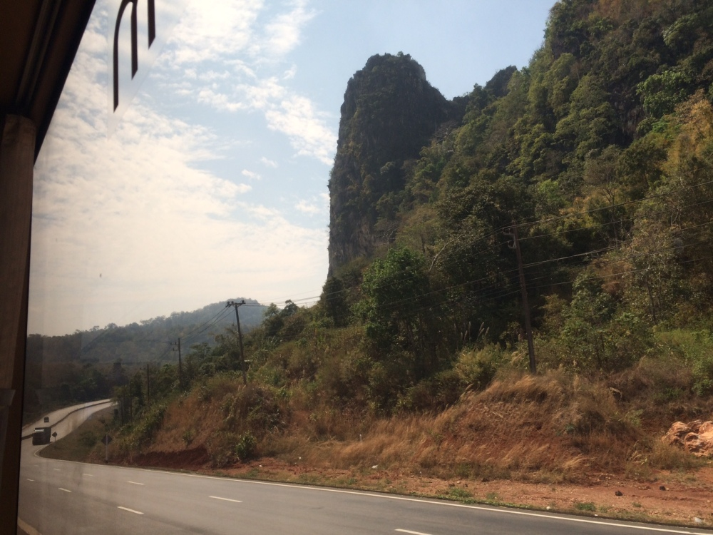 The road to Mae Sot