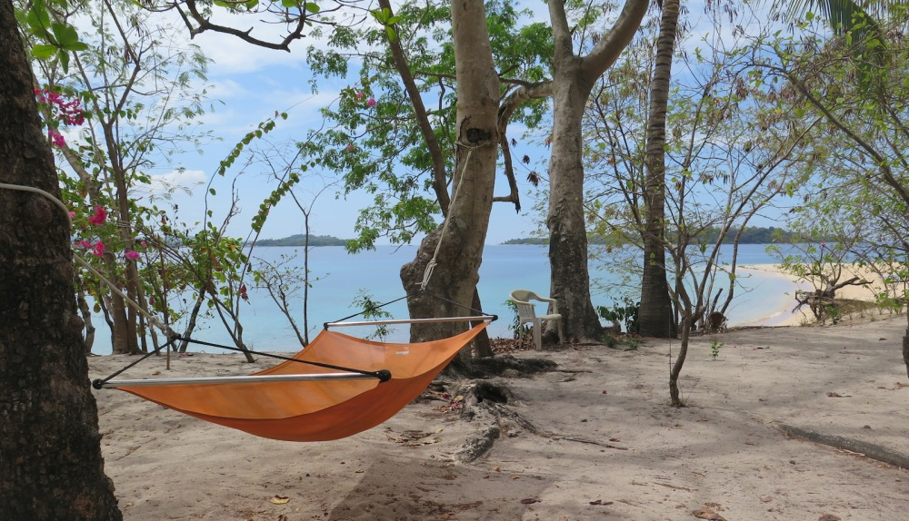 Hammock on Pandan Island