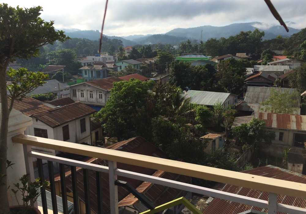 Hsipaw view from Lily the Home