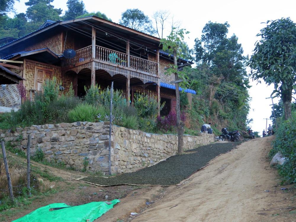 Thansant village